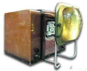 телевизор КВН с линзой